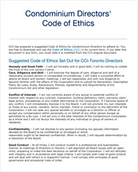 Code of Ethics & Standards of Professional conduct - Canadian